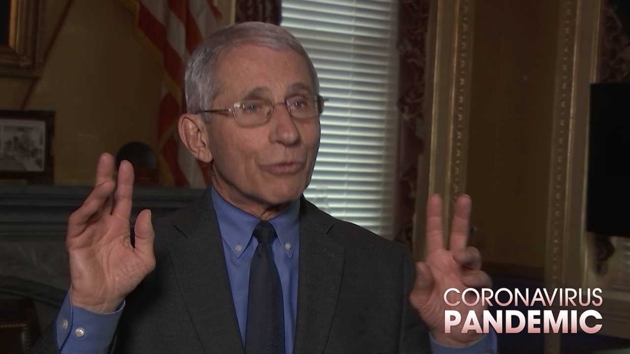 Eksklusif: Dr Fauci menjelaskan apa yang berikutnya untuk AS dalam pertempuran coronavirus
