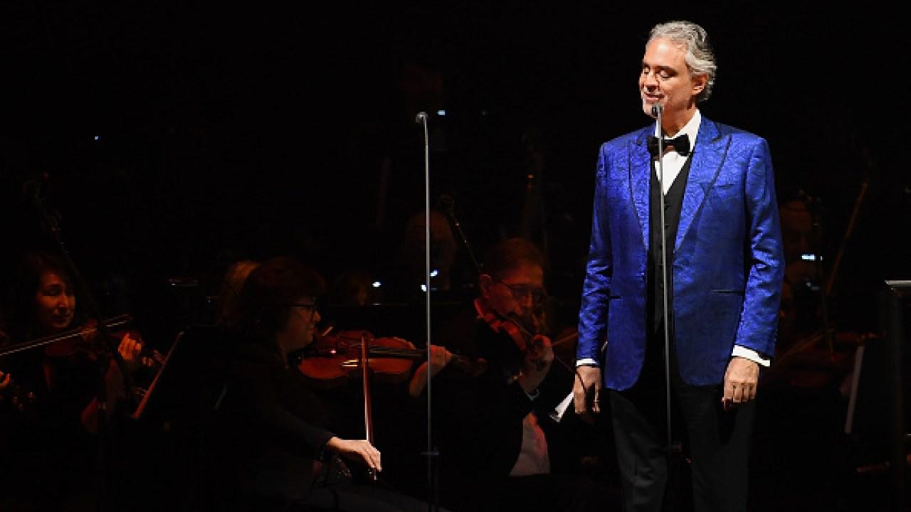 Andrea Bocelli live aus Italien, einen leeren Dom auf Ostern