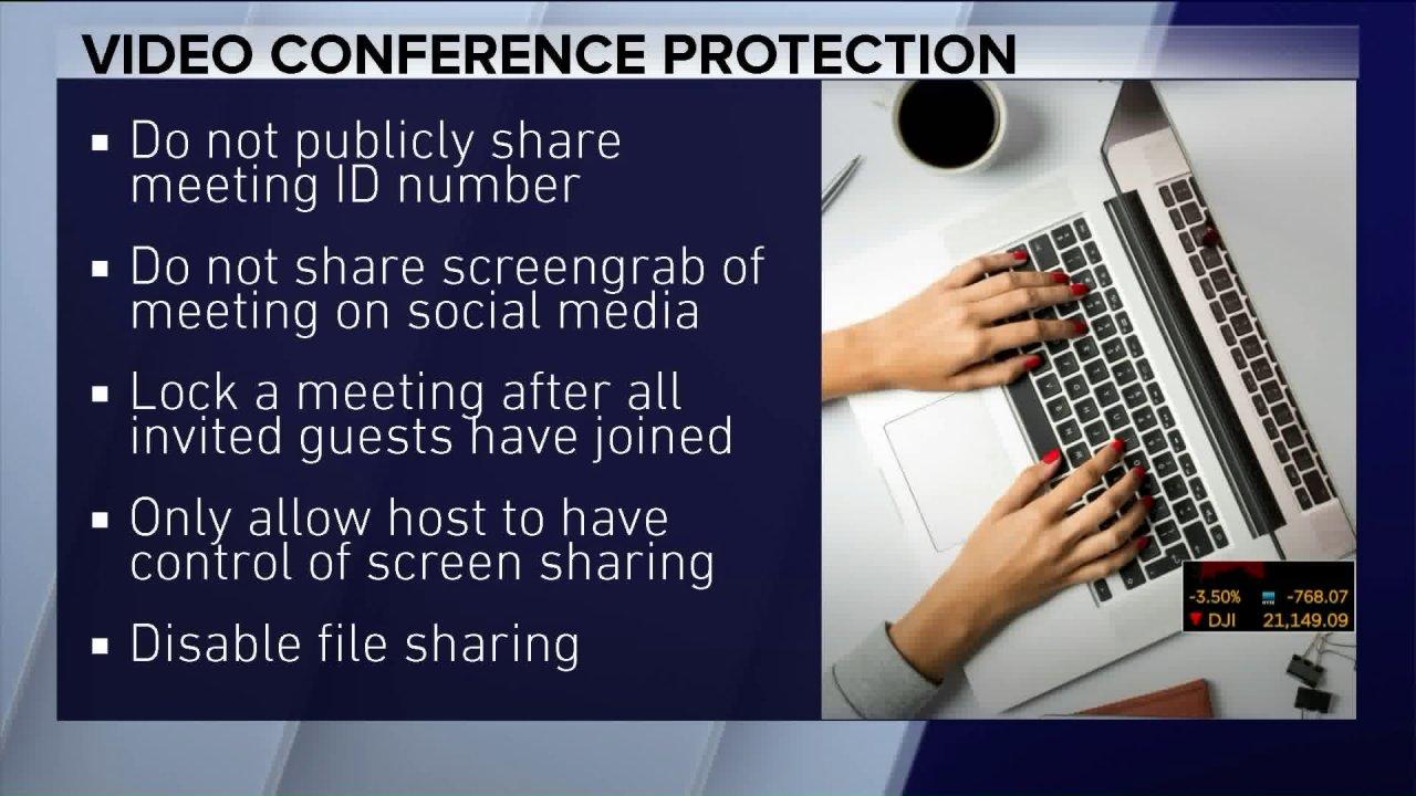 COVID-19: Nehmen Sie einen Blick auf video-conferencing-Datenschutz