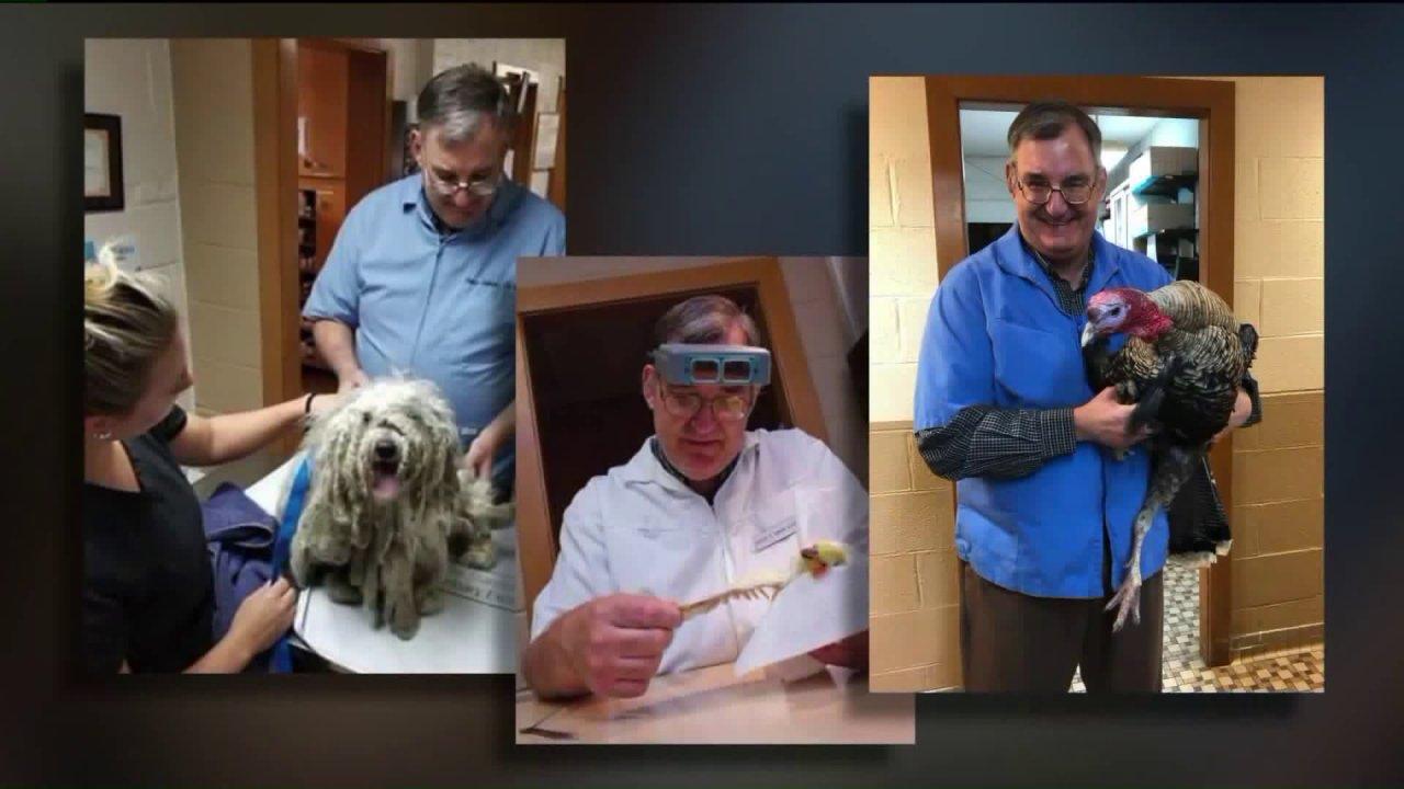 'Dia benar-benar Dr. Doolittle': Tercinta Niles hewan antara COVID-19 korban