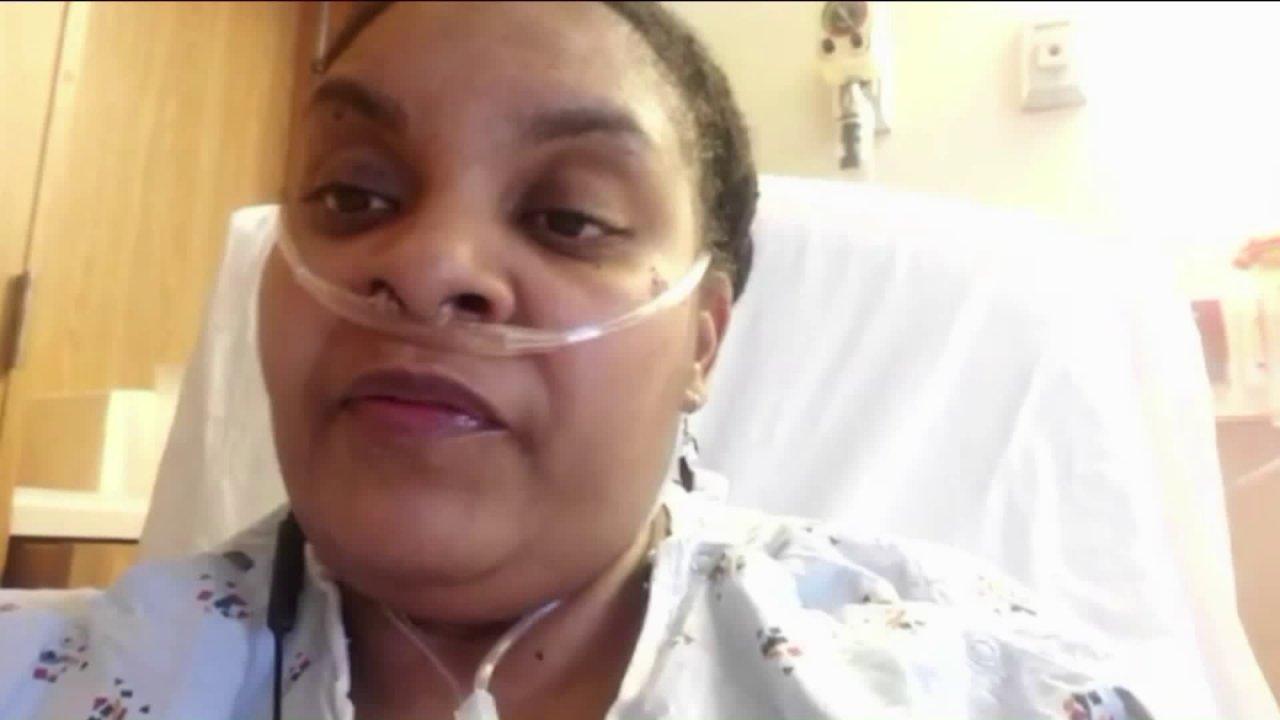 'Saya hampir tidak bisa bernapas': Chicago wanita saham COVID-19 cerita dari tempat tidur rumah sakit