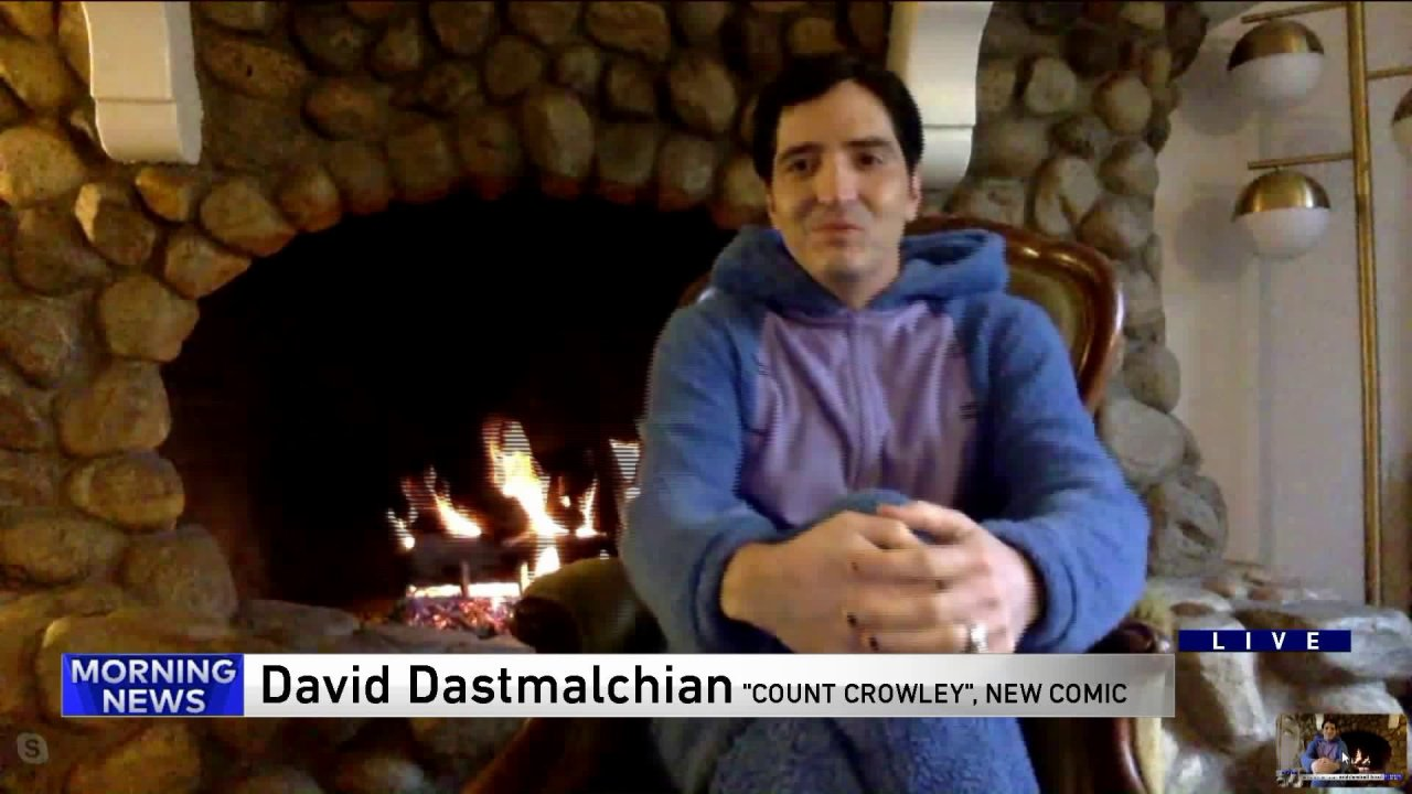 Kita bicara ke Chicago Sendiri David Dastmalchian tentang baru 'Menghitung Crowley' buku komik, The Dark Knight dan Dune