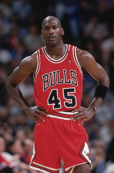 The Days of #45: Michael Jordan's brief time in a different number ...