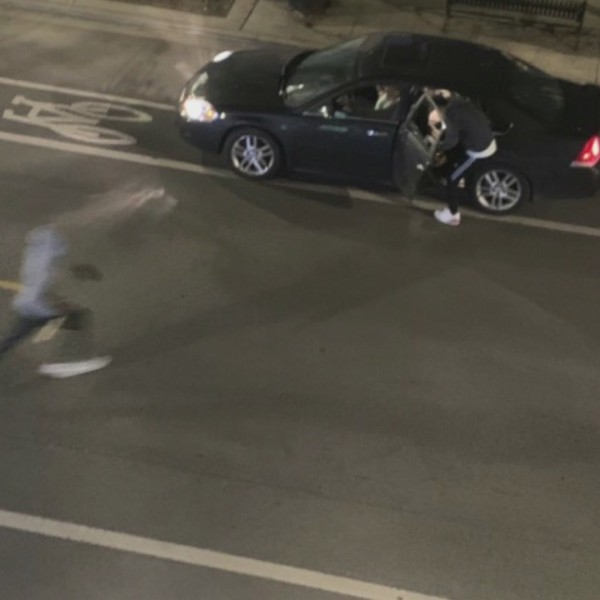Surveillance image shows looters fleeing