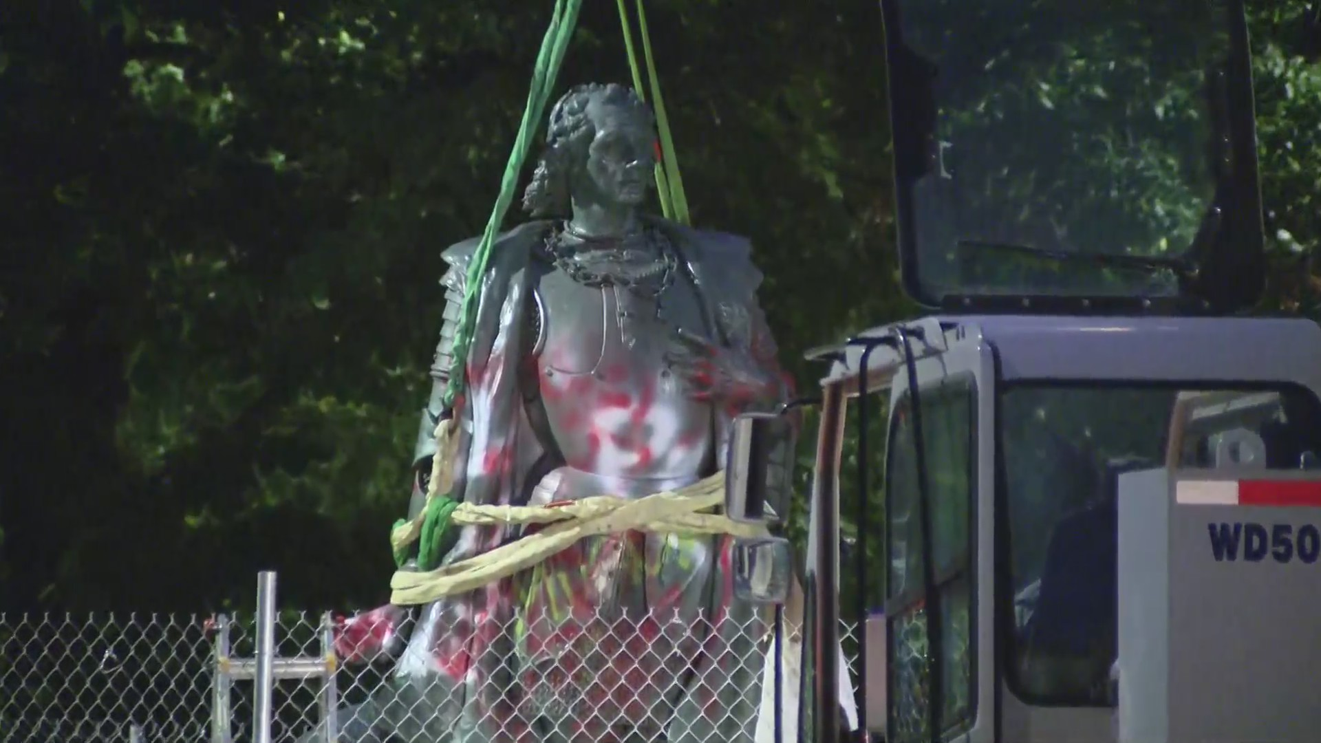 Mayor Lightfoot has statues of Christopher Columbus removed