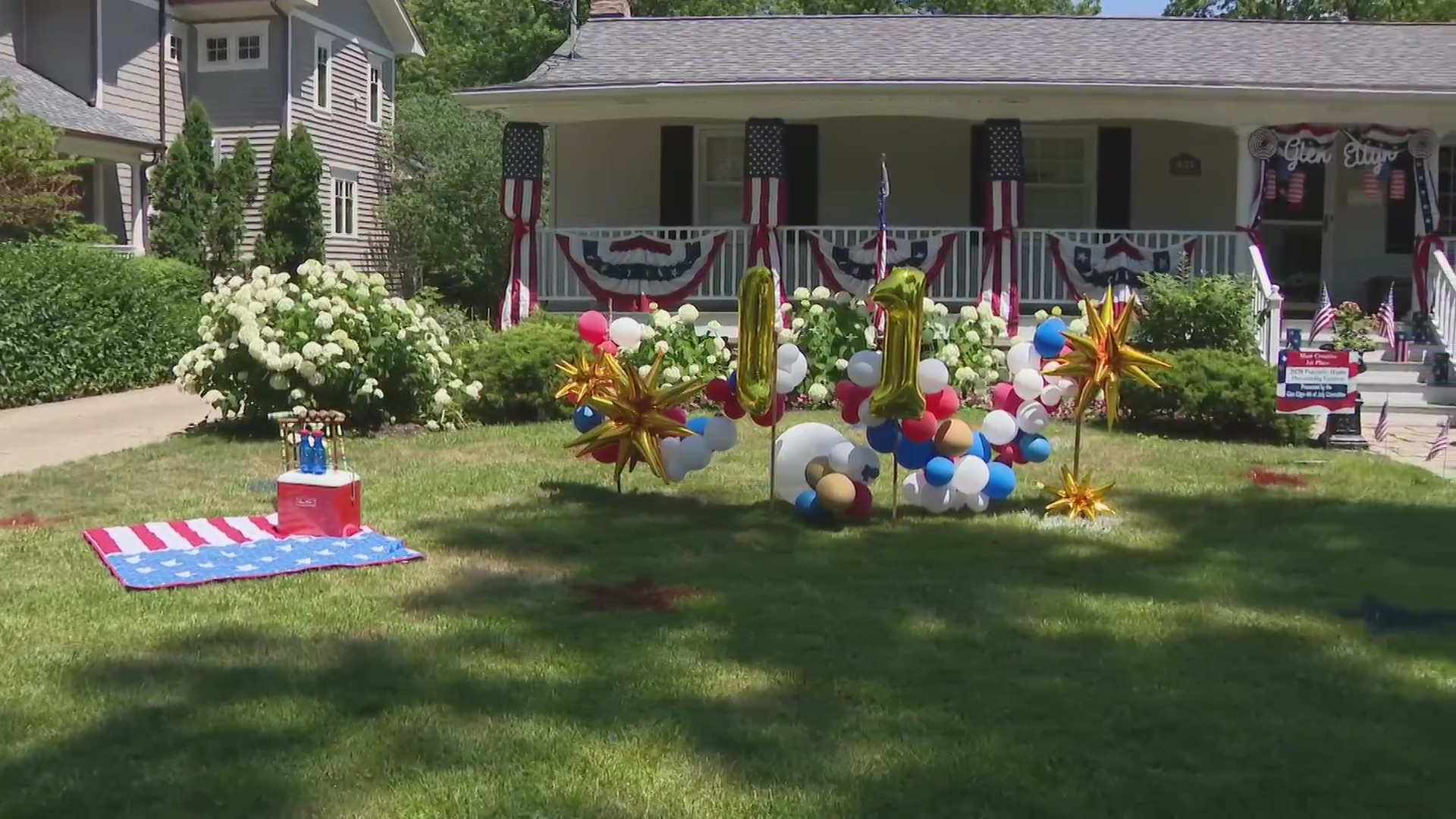 Glen Ellyn Families Compete For Best Fourth Of July Decorations Wgn Tv