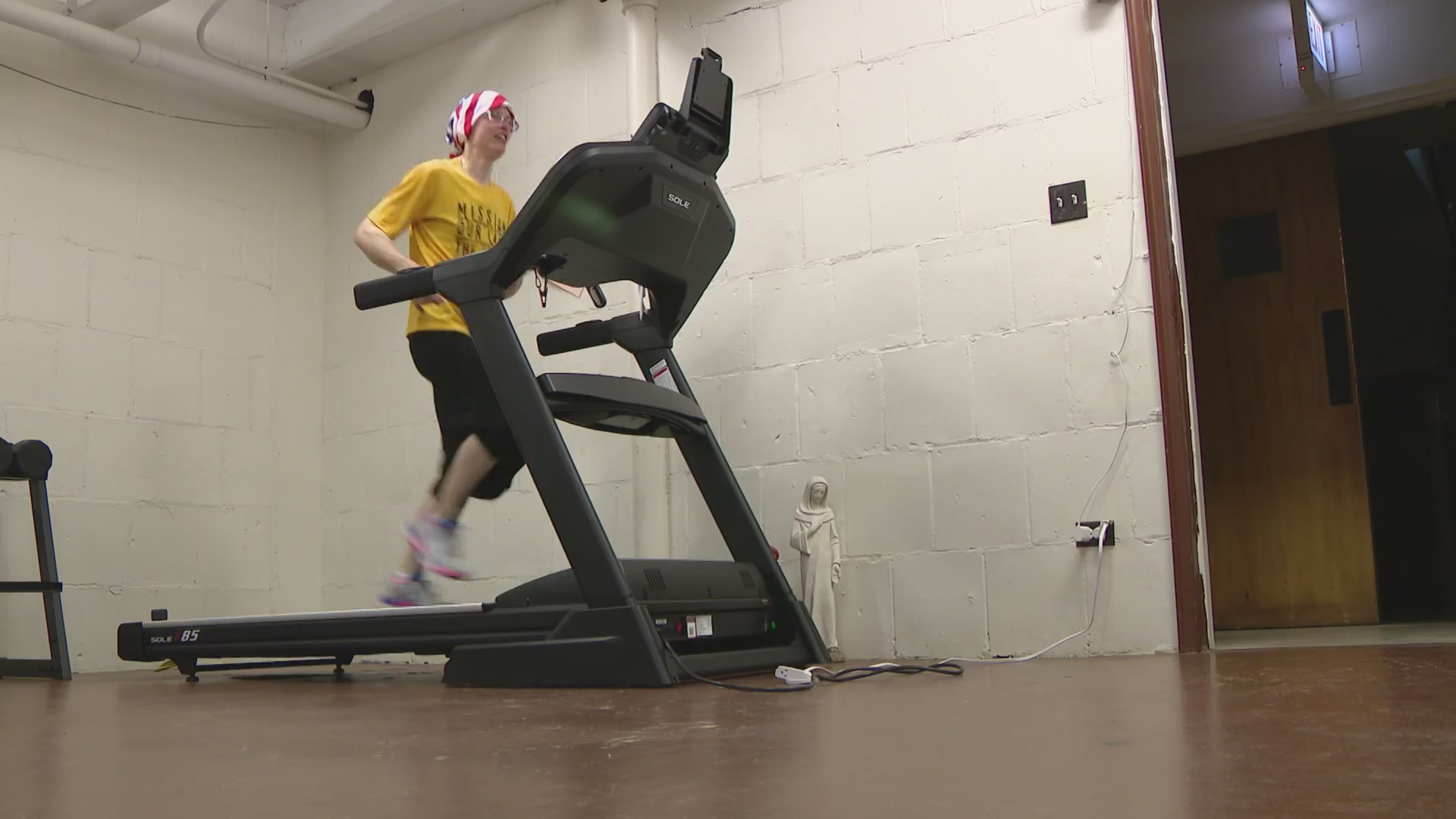 Nun Who Ran Marathons To Feed the Hungry Plans Own Race in Church Basement, Sets Sights on World Record
