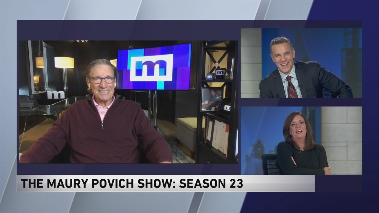 Maury Show Halloween 2020 Why Maury gave up becoming the next Peter Jennings   WGN TV