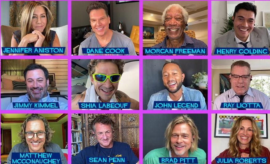 Brad Pitt, Jennifer Anniston, other stars reunite for 'Fast Times at Ridgemont  High' virtual table read | WGN-TV