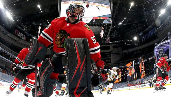 Blackhawks Reportedly Make A One Year Contract Offer To Corey Crawford Wgn Tv