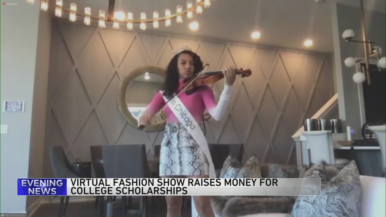 Virtual fashion show raises money for college scholarships