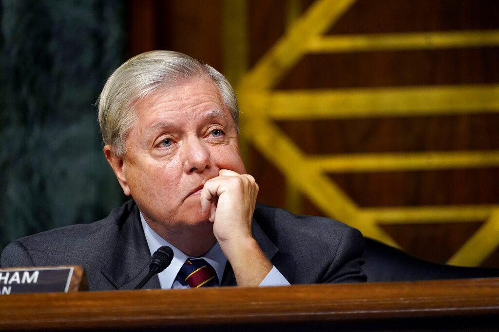 Senator Lindsey Graham pressured Georgia's secretary of state about legally  cast ballots, report says | WGN-TV