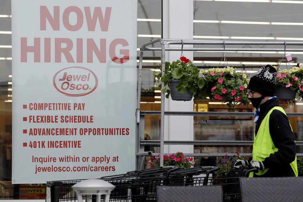 US adds 245,000 jobs in November as virus threatens economy's slow comeback