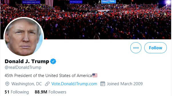 Twitter Could Ban Trump After He Leaves Office Wgn Tv