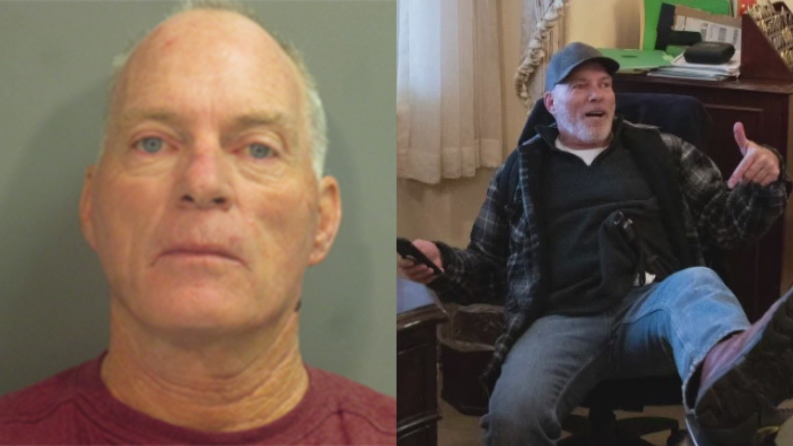 Man pictured in Pelosi's office turns himself in to authorities in Arkansas | WGN-TV