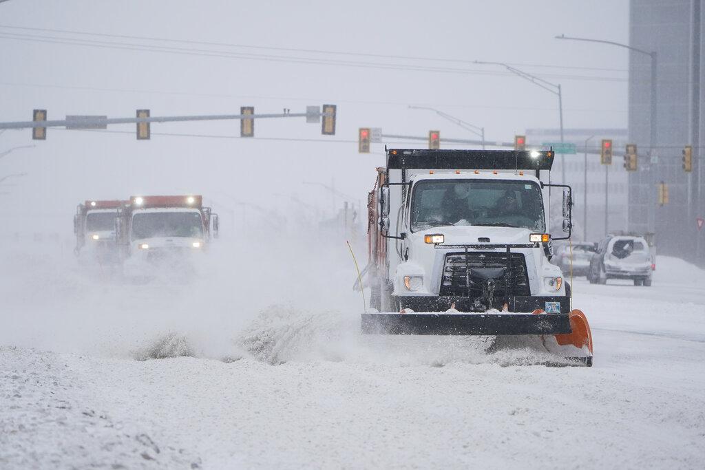 Power cut across Texas as snow, ice blanket southern Plains