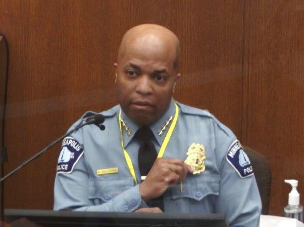 Police Chief Medaria Arradondo