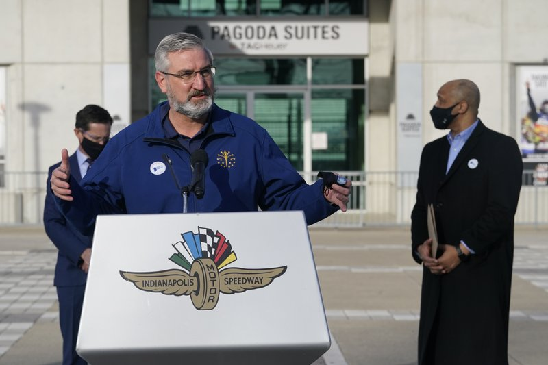 Indiana governor holding to decision ending mask mandate
