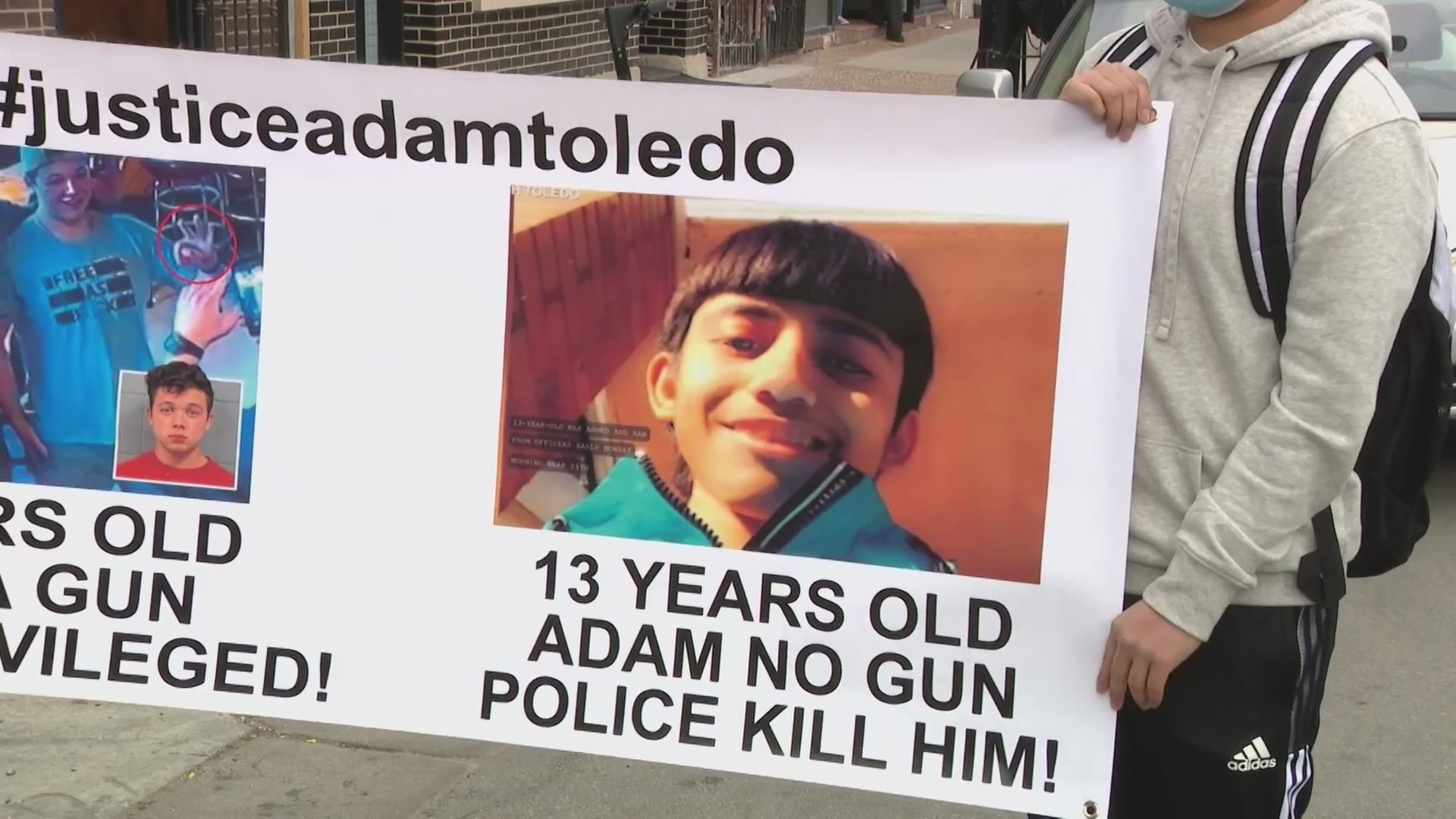 Chicago Reacts To Bodycam Footage Of Adam Toledo S Deadly Shooting By Police Wgn Tv