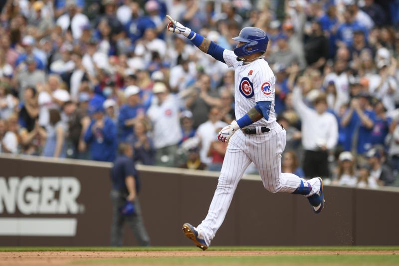 Baez, Wisdom Homer twice in Cubs win over Padres