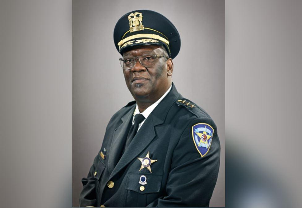 Evanston Police Chief Demitrous Cook