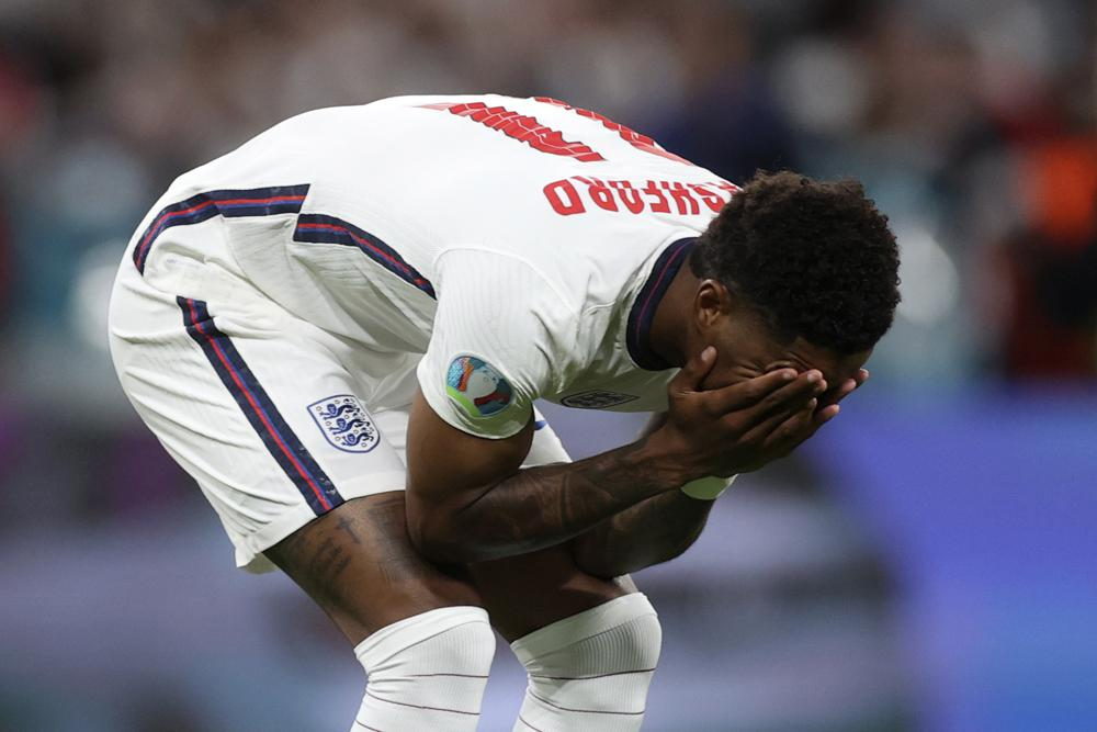 Racist abuse targets 3 English players who missed penalties