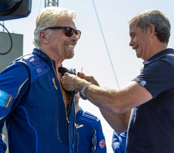 Billionaire Richard Branson