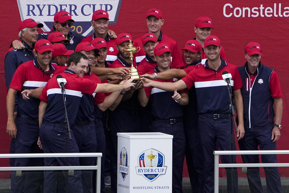 https://apnews.com/article/sports-collin-morikawa-patrick-cantlay-ryder-cup-jon-rahm-5a5d6461070b9c50b11b6f37ad461639 Click to copy RELATED TOPICS Sports AP Top News Steve Stricker Dustin Johnson Ryder Cup Sheboygan Europe Daniel Berger Americans win Ryder Cup in a rout, send Europe a message